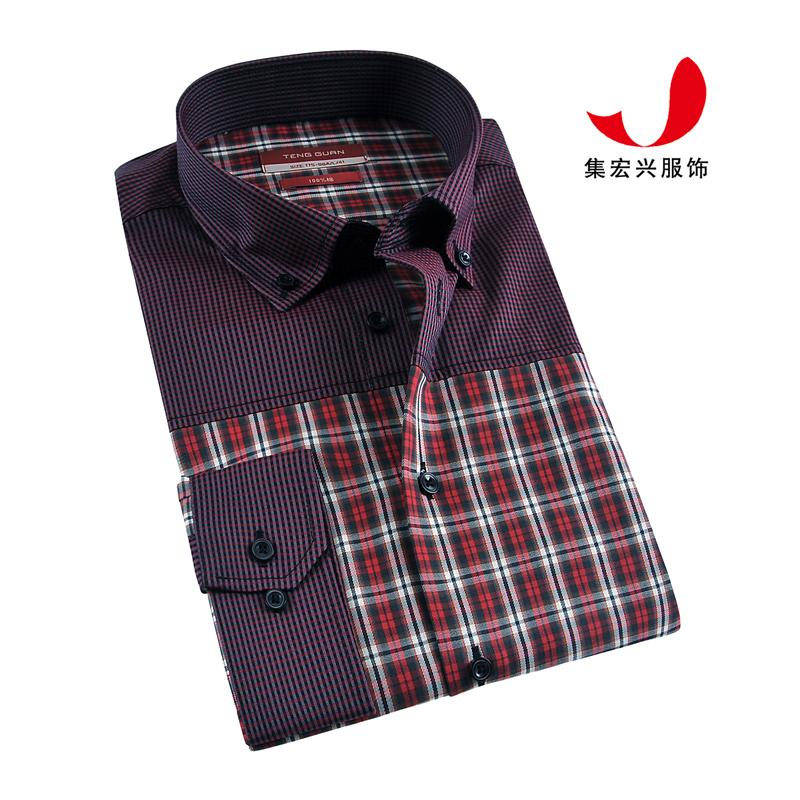 休闲衬衫定制-QM06006