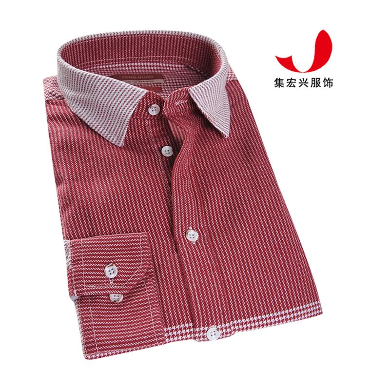 休闲衬衫定制-QM06013