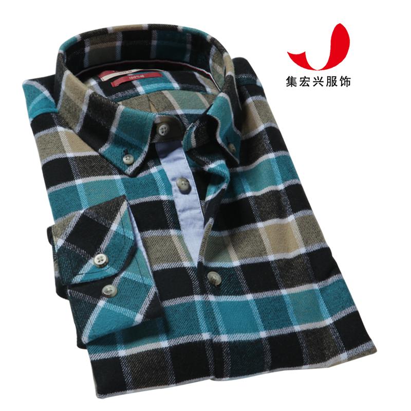 休闲衬衫定制-QM06042