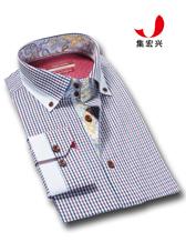 条纹商务衬衫定制