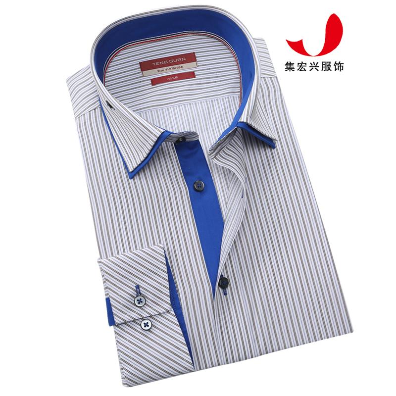 正装衬衫定制-QM05040