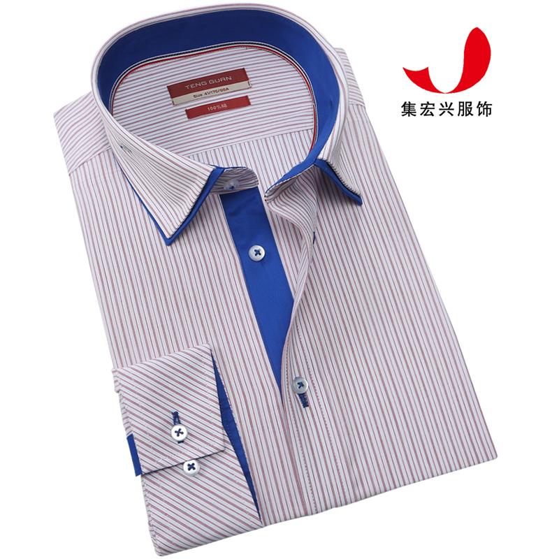 正装衬衫定制-QM05042