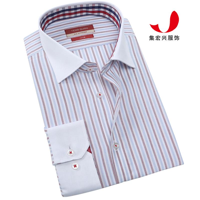 正装衬衫定制-QM05044