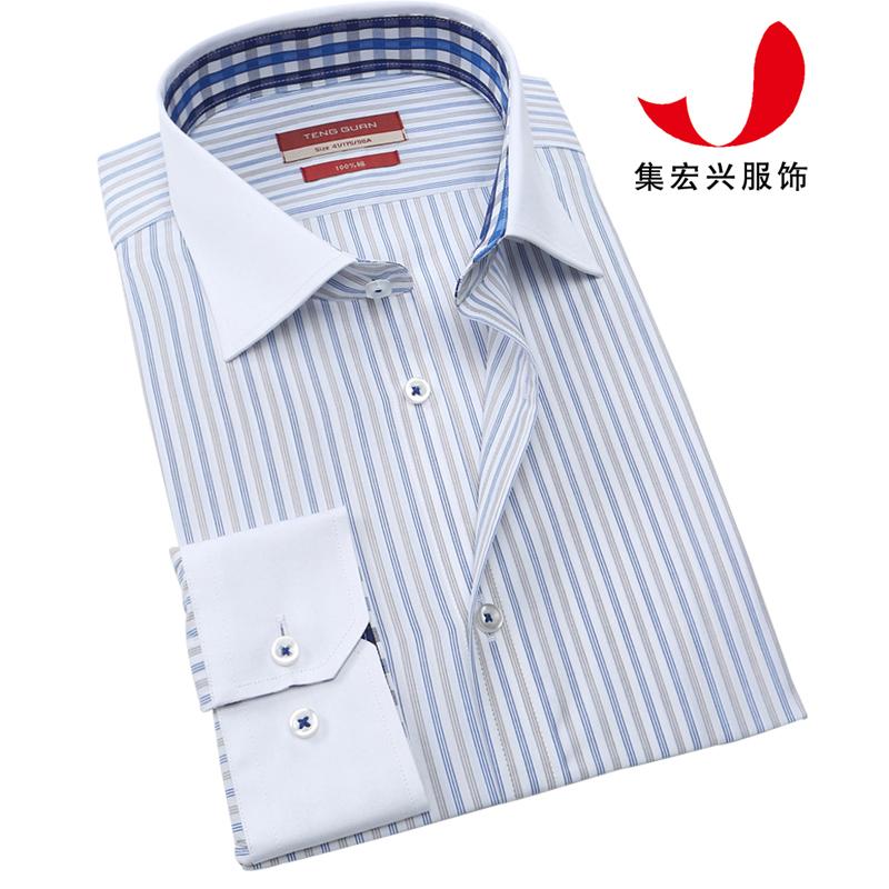 正装衬衫定制-QM05045