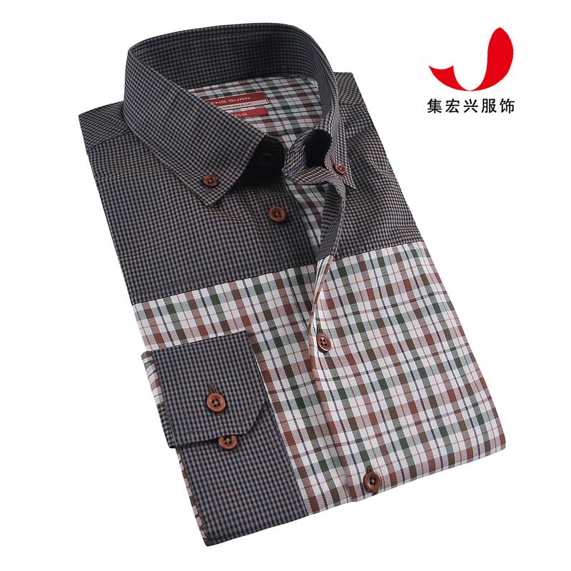 休闲衬衫定制-QM06007