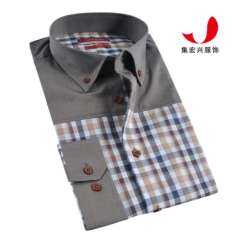 休闲衬衫定制-QM06008