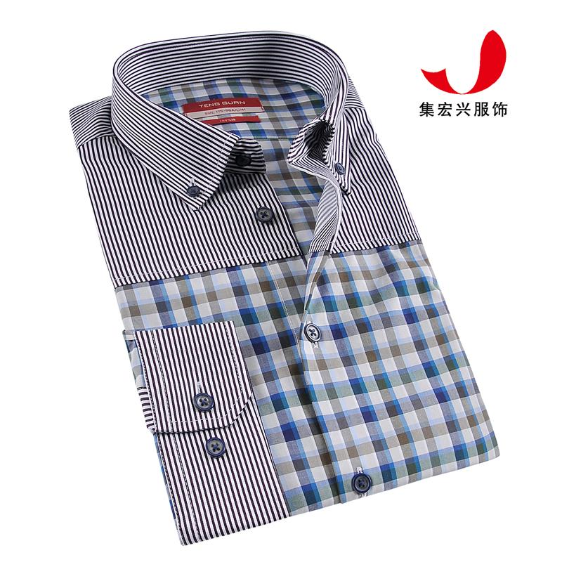 休闲衬衫定制-QM06009