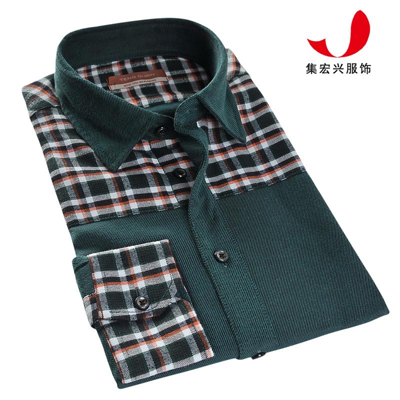 休闲衬衫定制-CVC04043