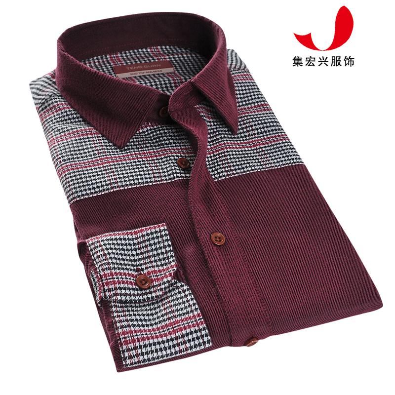 休闲衬衫定制-CVC04044
