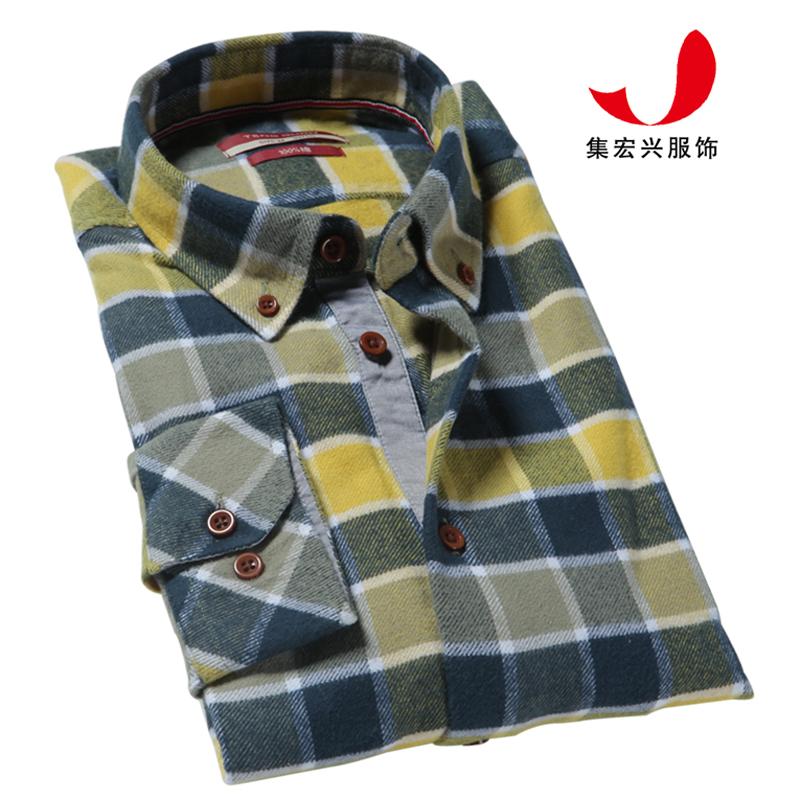 休闲衬衫定制-QM06043